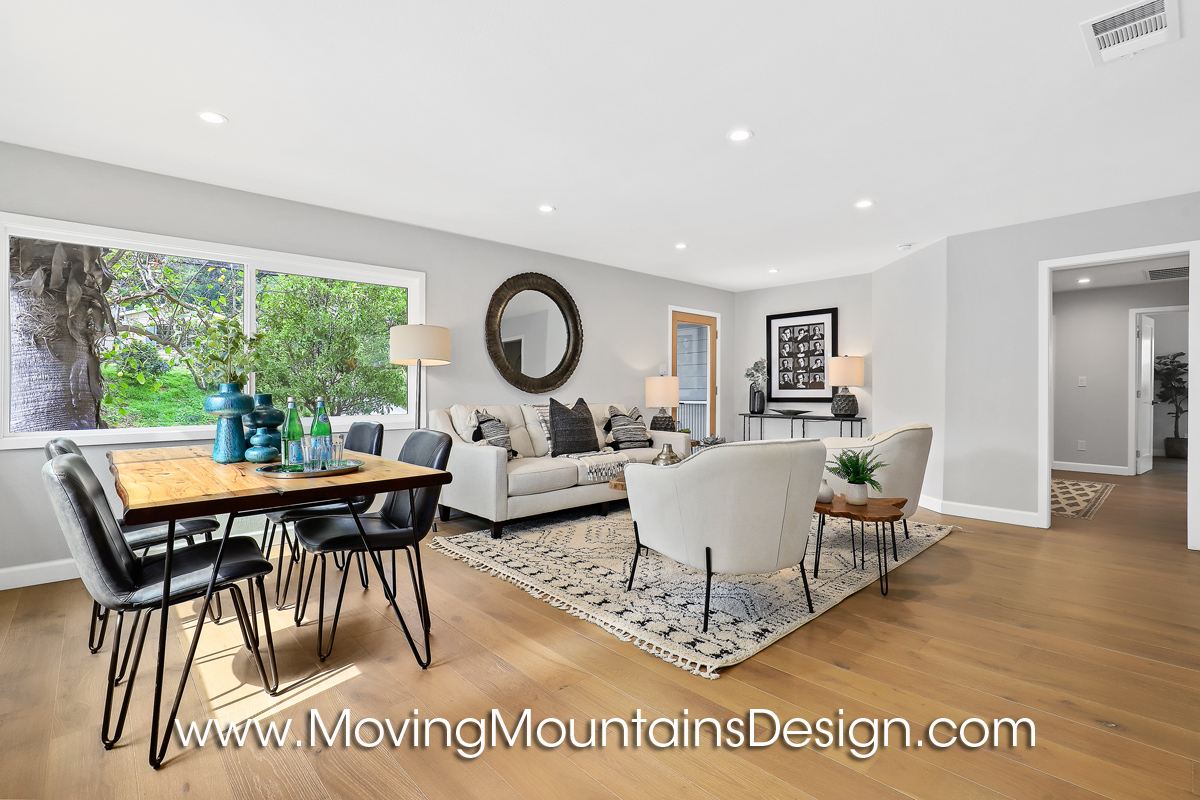 Hollywood Hills Home Staging