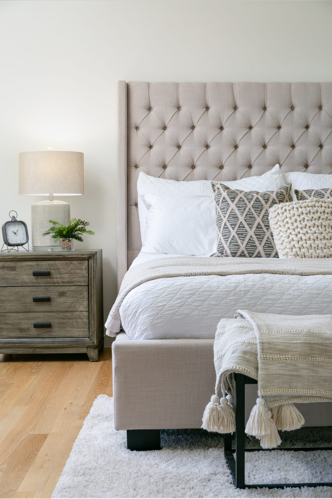 Contemporary Bedroom Home Staging