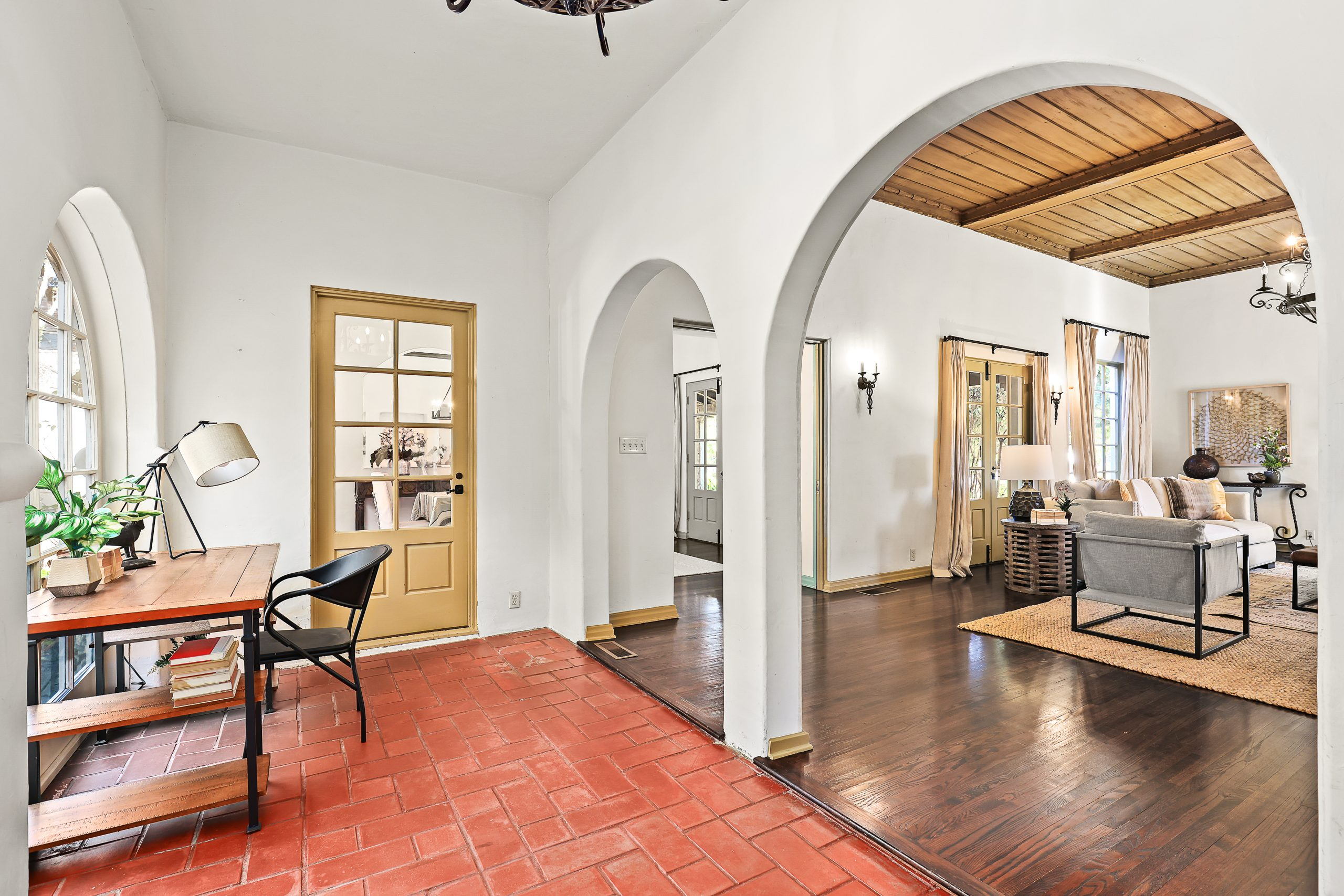 Spanish Revival Home Staging Home Office