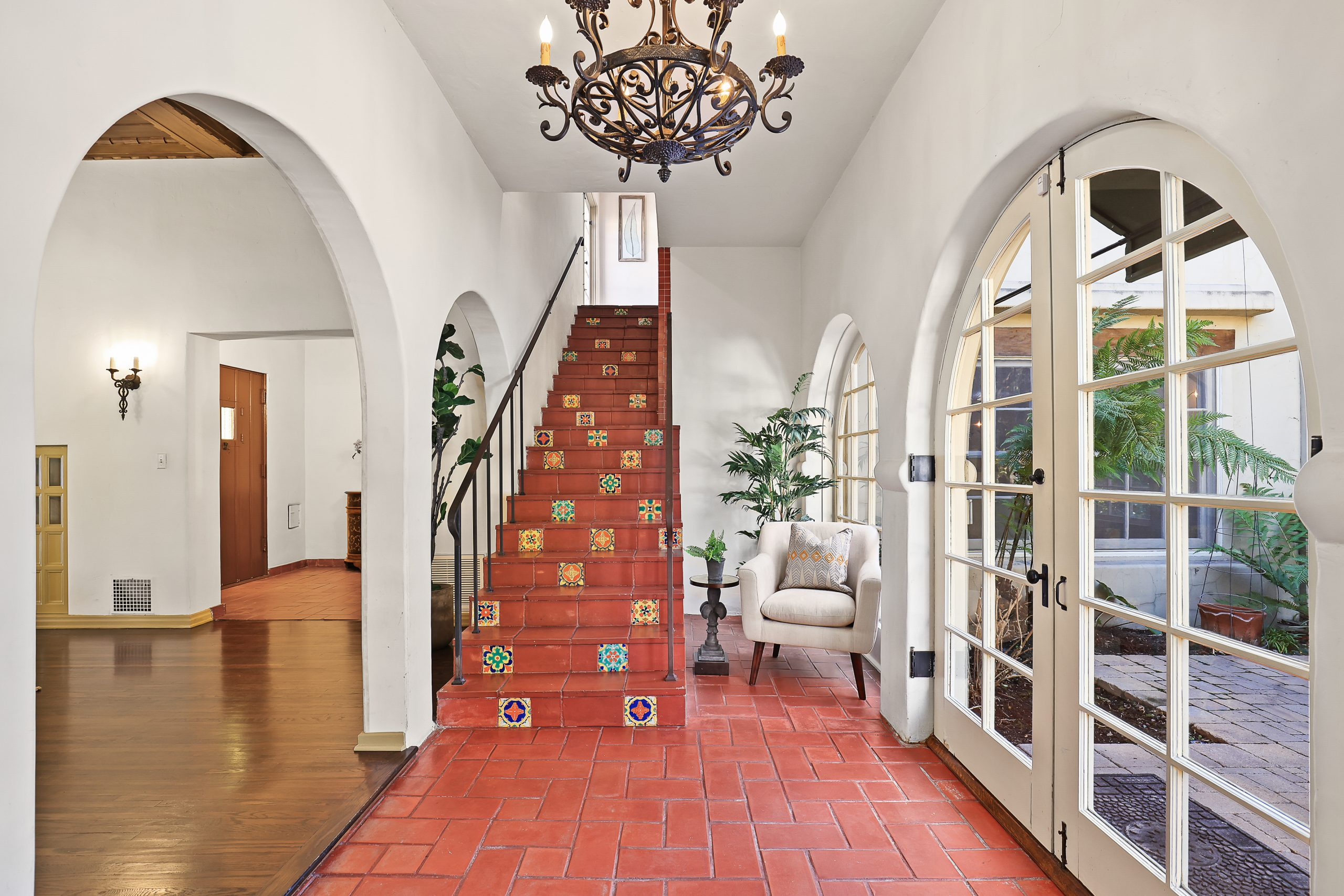 Spanish Revival Home Staging Original Tile